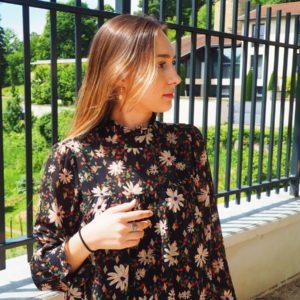 Blouse Ella - Noir