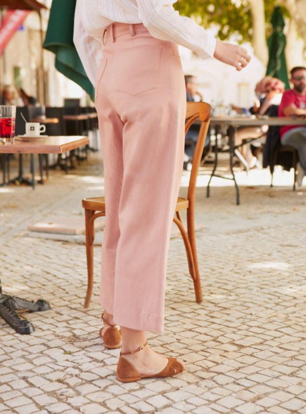 Pantalon Garance - Cafe