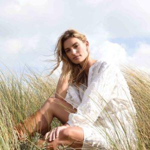 Robe Olympe - Blanc
