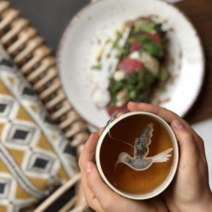 Sachets de thé - Oiseaux tropical