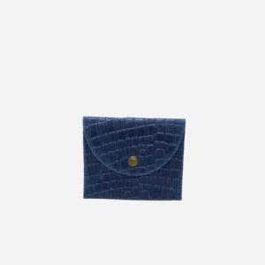 Porte Carte Luna - Bleu