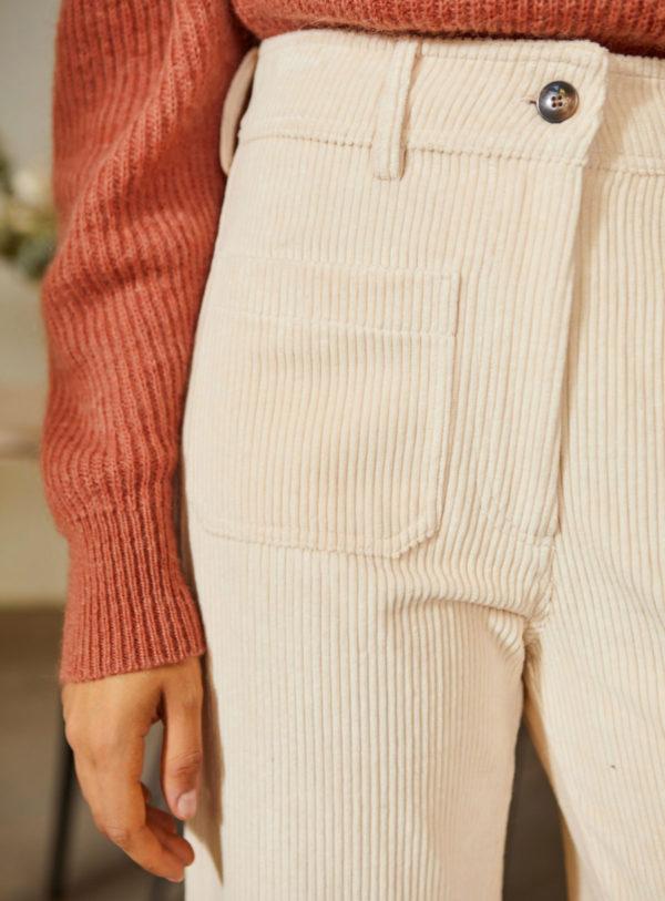 Pantalon Jim - Ecru