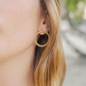 Boucles d'oreilles - Sun
