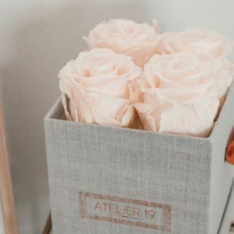 Box - 4 roses