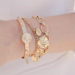 Bracelet Arthur - Doré