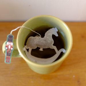 Sachet de thé - Cheval à bascule