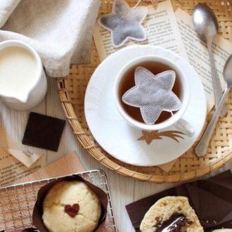 Sachet de thé - Etoile